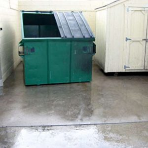Have Your Dumpster Pad Cleaned Regularly